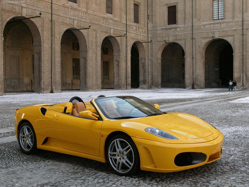 Ферарри Ferrari F430 Spider.
