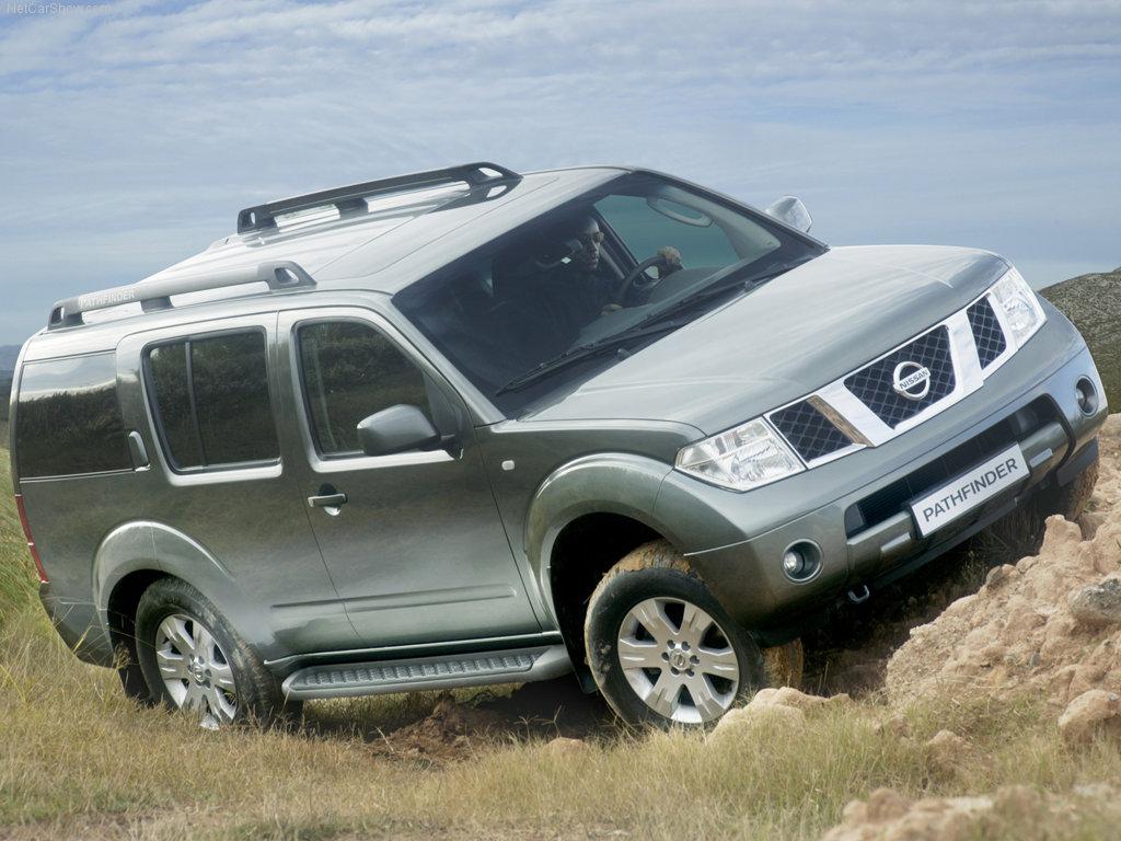 Главная Автомобили Nissan Pathfi…